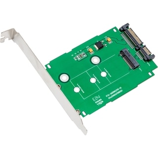 IOCrest M.2 NGFF to 2.5-inch SATAIII Card with Full and Low Profile Brackets