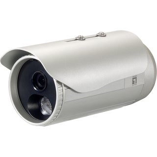 LevelOne H.264 3-Mega Pixel FCS-5053 PoE IP Network Camera w/IR (Day/