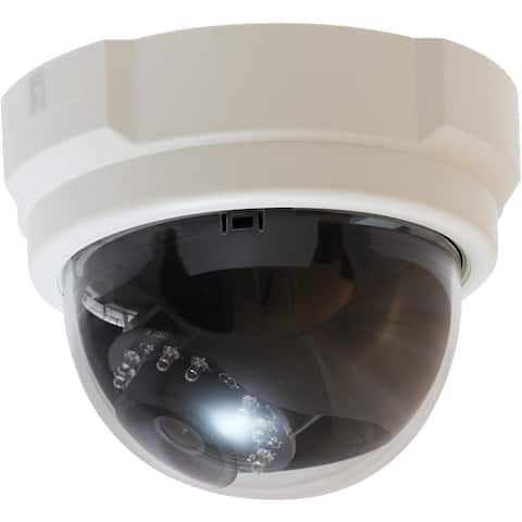 LevelOne H.264 5-Mega Pixel FCS-3063 PoE WDR IP Dome Network Camera (Day/Night/Indoor), TAA Compliant