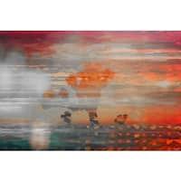 Parvez Taj 'Coachella Valley' Fine Art Print - Multi-color