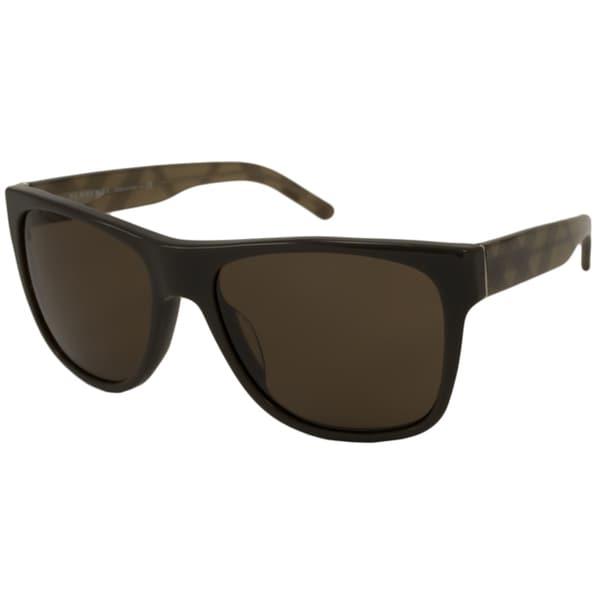 burberry men glasses z6fd  Burberry Men's BE4112MA Rectangular Sunglasses