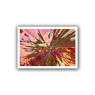 Dean Uhlinger 'Abini Succulent' Unwrapped Canvas