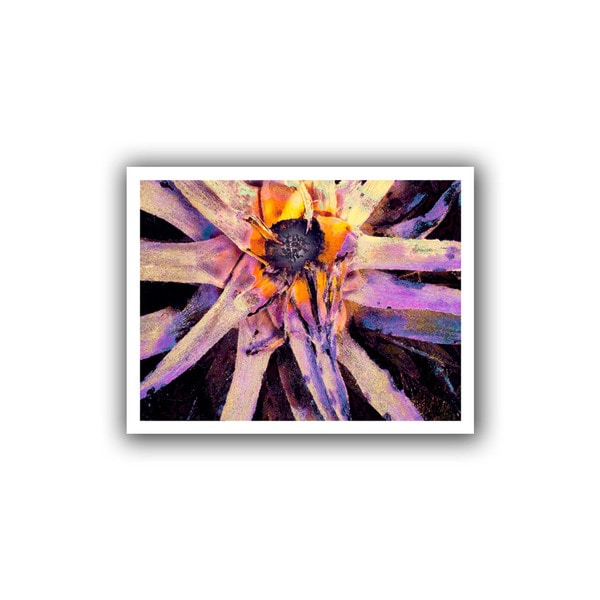 Dean Uhlinger 'Agave Glow' Unwrapped Canvas - Multi