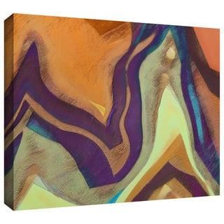 Dean Uhlinger 'Arrt Attack' Gallery-wrapped Canvas