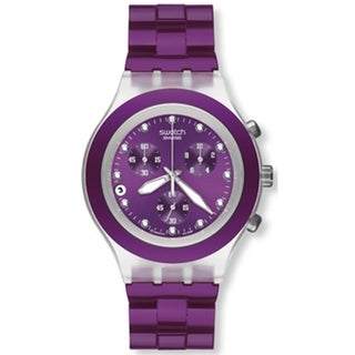 Swatch Full Blooded SVCK4048AG Purple Watch