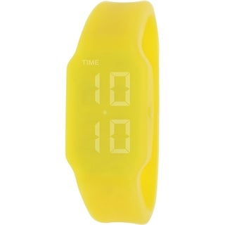Verb Women's VRB004 Yellow Silicone Digital Watch