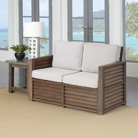 Barnside Love Seat and End Table by Home Styles