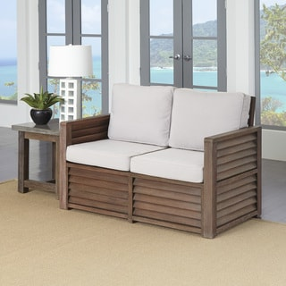 Home Styles Barnside Love Seat and End Table