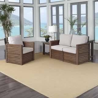 Home Styles Barnside Love Seat, Chair, and End Table