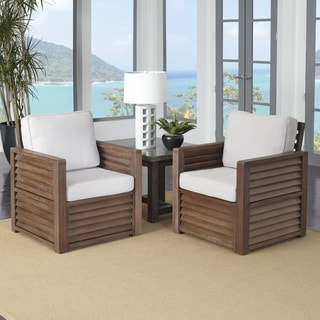 Home Styles Barnside Two Chairs and End Table
