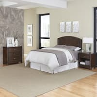 Crescent Hill Headboard, Night Stand, and Chest by Home Styles