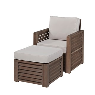 Home Styles Barnside Chair and Ottoman
