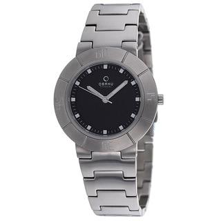 Obaku Women's V140LCBSC Harmony Silvertone Bracelet Watch