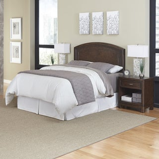 Home Styles Crescent Hill Headboard and Two Night Stands