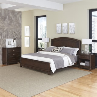 Home Styles Crescent Hill Bed, Two Night Stands, & Chest