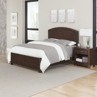 Home Styles Crescent Hill Bed and Night Stand