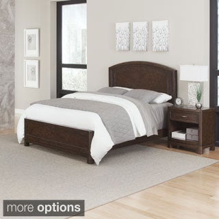 Crescent Hill Bed and Night Stand by Home Styles