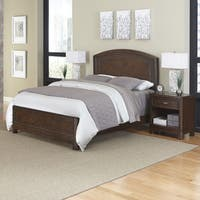Crescent Hill Bed and Two Night Stands by Home Styles