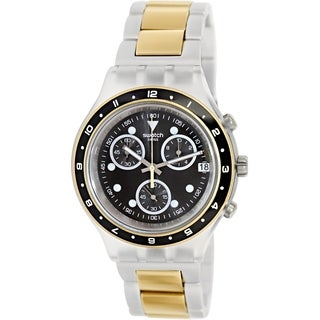 Swatch Men's Irony Diaphane SVCK4076AG Two-tone Stainless Steel Quartz Watch