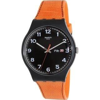 Swatch Men's Originals SUOB709 Orange Silicone Black Dial Watch|https://ak1.ostkcdn.com/images/products/9290329/P16452935.jpg?impolicy=medium