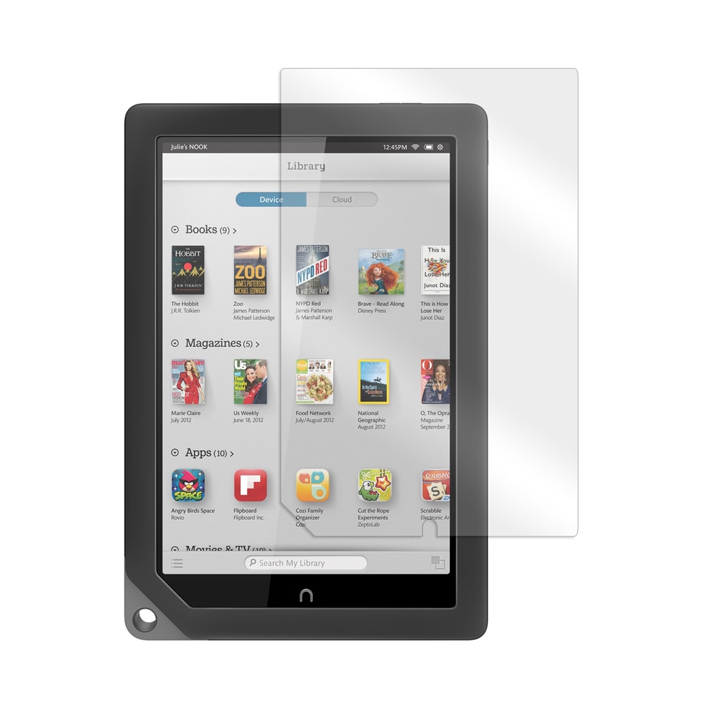MGEAR Screen Protector for Nook HD+ 9 in. Tablet, Clear #...