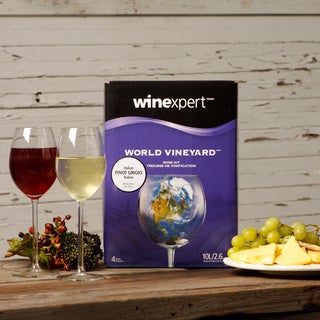World Vineyard Italian Pinot Grigio Wine Ingredient Kit