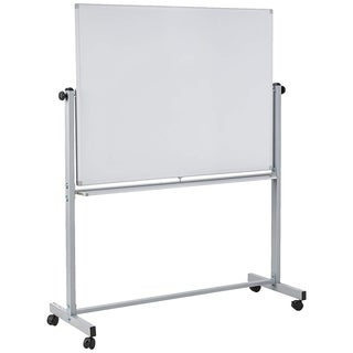 Offex Mobile Dry Erase Double Sided and Magnetic Whiteboard