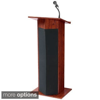The Power Plus Lectern with Mics