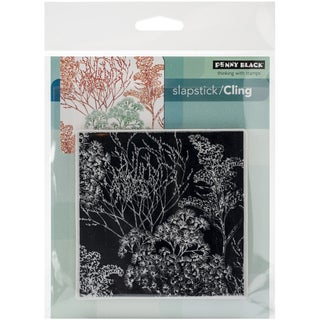 "Penny Black Cling Rubber Stamp 5""X5.5"" Sheet -Heathers"