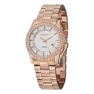 Stuhrling Original Women's Quartz Calliope Stainless Steel Bracelet Watch