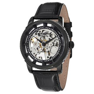 Stuhrling Original Men's Automatic Winchester Skeleton Leather Strap Watch|https://ak1.ostkcdn.com/images/products/9290497/P16453132.jpg?impolicy=medium