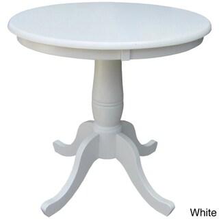 30-inch Round Pedestal Table