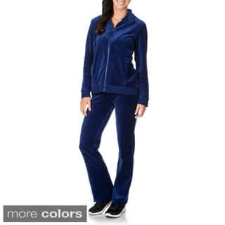 La Cera Women's Two-piece Sweat Suit|https://ak1.ostkcdn.com/images/products/9290582/P16453072.jpg?impolicy=medium