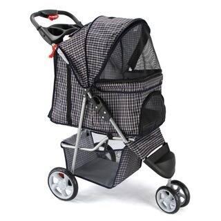 OxGord 3-wheel Pet Stroller (Option: Black) https://ak1.ostkcdn.com/images/products/9290622/P16453198.jpg?impolicy=medium