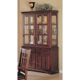 Coaster Company Newhouse Cherry Buffet and Hutch