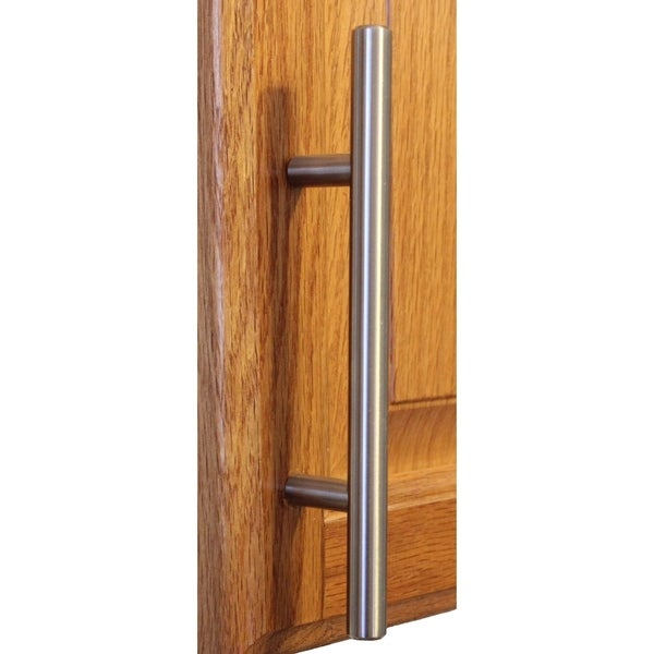 GlideRite 6-inch Solid Stainless Steel 3-inch CC Cabinet Bar Pulls ...