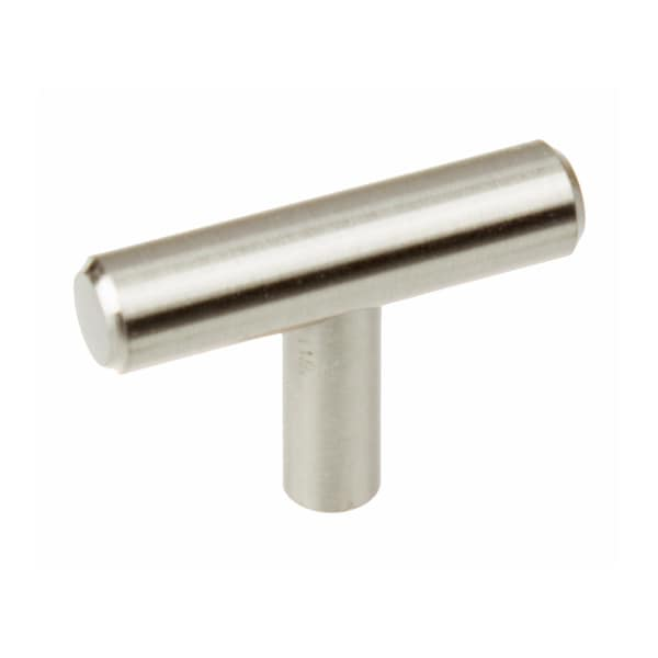 GlideRite 2-inch Solid Stainless Steel Cabinet Bar Knob (Pack of 10)