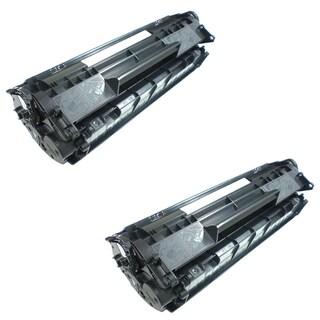 HP CF283A Black High Yield Remanufactured Toner Cartridges (Refurbished) (Pack Of 2)