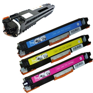 HP CF350A High Yield Remanufactured Toner Cartridges (Pack Of 4)