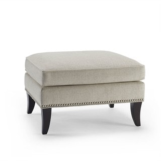 Sonoma Barley Ottoman with Nailhead Trim