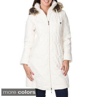 Women's 'Geneva' Down Short Coat|https://ak1.ostkcdn.com/images/products/9291102/P16453653.jpg?impolicy=medium