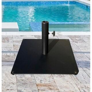 TropiShade Steel Plate 20 x 20-inch Square Base