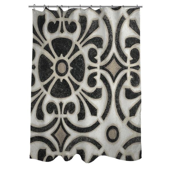 Moroccan Symbol II Shower Curtain