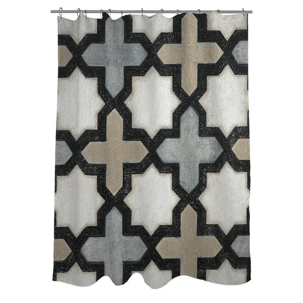 Moroccan Symbol I Shower Curtain