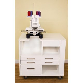 Arrow 'Ava' Embroidery Sewing Machine Table Furniture Cabinet for Baby Lock and Brother Machines