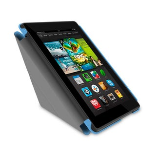 rooCASE Slim Shell Origami Folio Case Smart Cover for Amazon Kindle Fire HD 7 2013