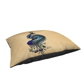 Peacock Large Rectangle Pet Bed