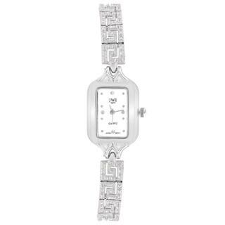 JWI Women's Brass Diamond Accent Watch