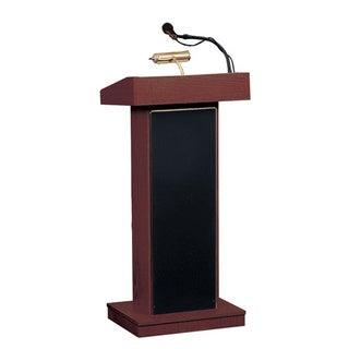 Oklahoma Sound Orator Floor Lectern with Wireless Headset Mic
