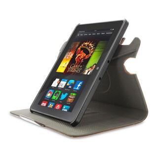 rooCASE 360 Dual View Rotating Detachable Folio Case for Amazon Kindle Fire HDX 7